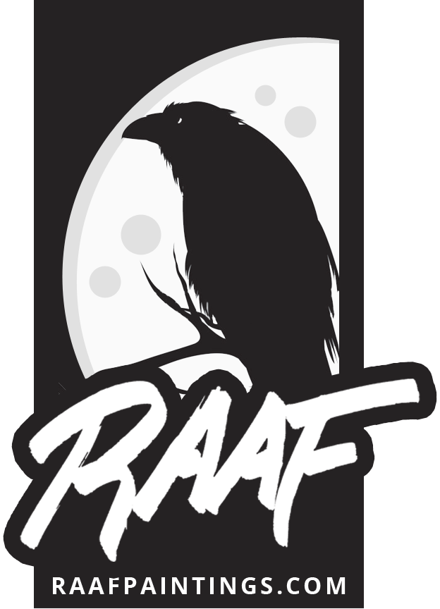 Raafs paintings Logo