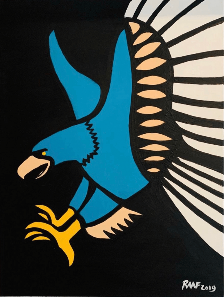 Eagle-abstract-by-raafpaintings