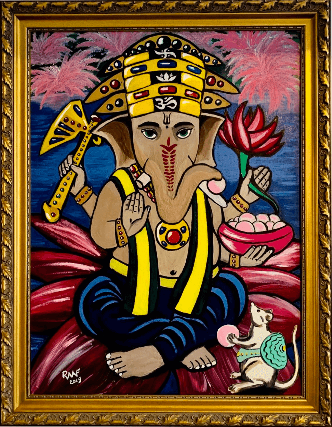 Ganesha_painting-by-raafpaintings