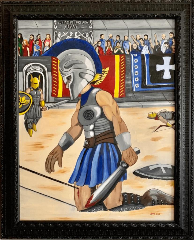 Gladiator-by-raafpaintings
