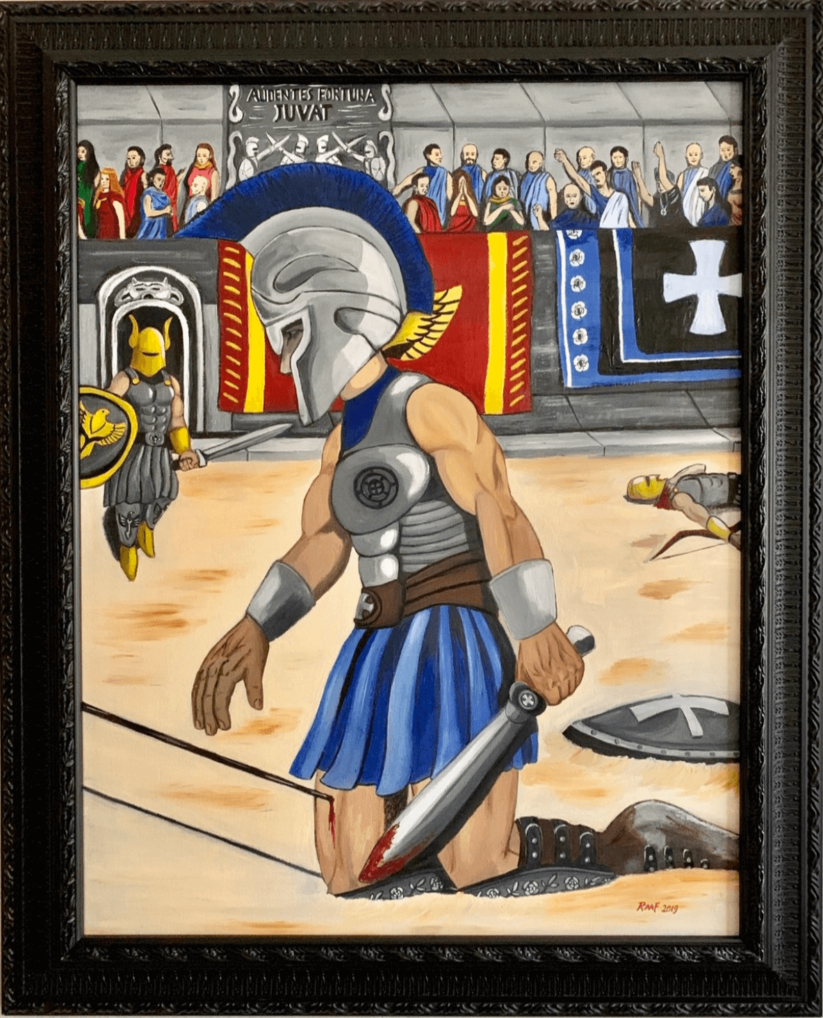 Gladiator-by-raafpaintings