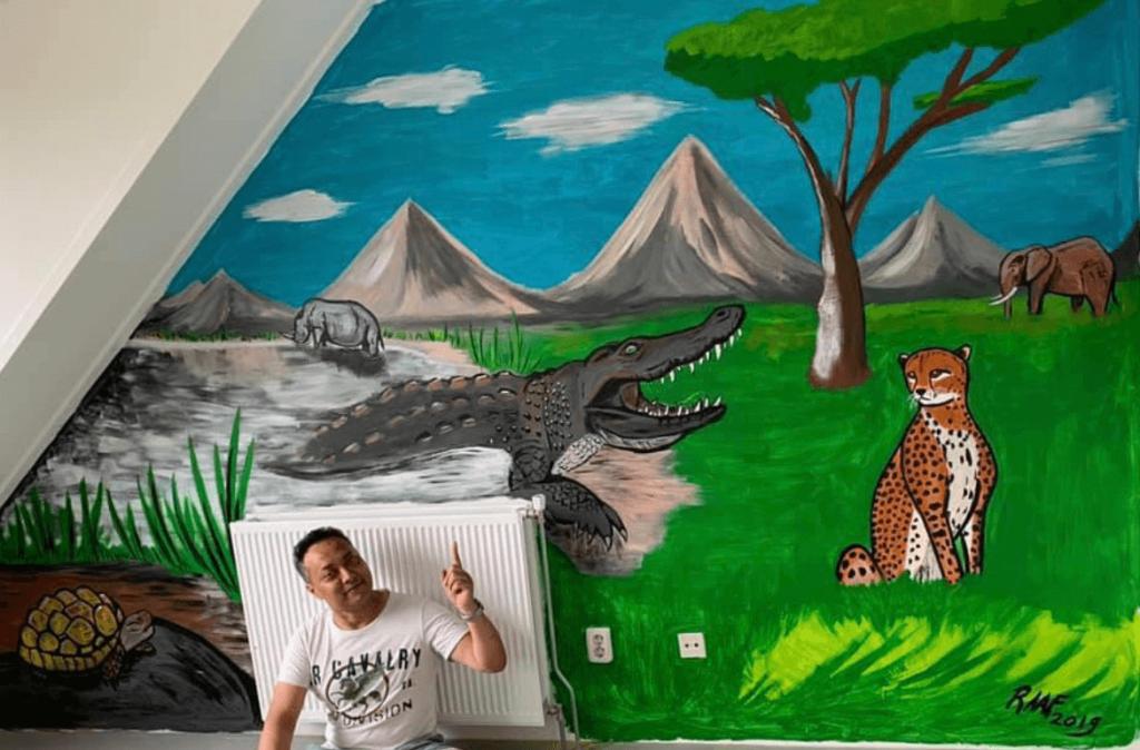 Mural-animals-by-raafpaintings