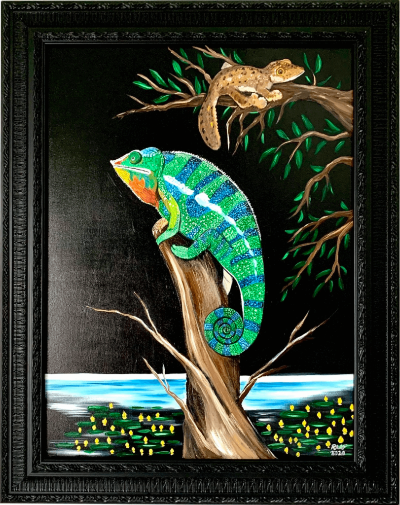 Painting_with_chameleon-by-raafpaintings