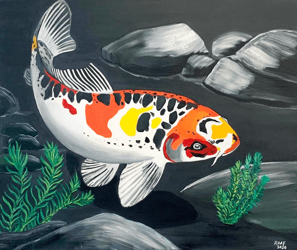koi-carp-fish-painting-1-by-raafpaintings