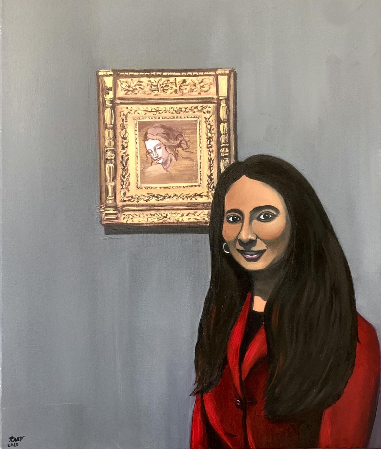 My_personal Mona_Lisa_by_raafpaintings