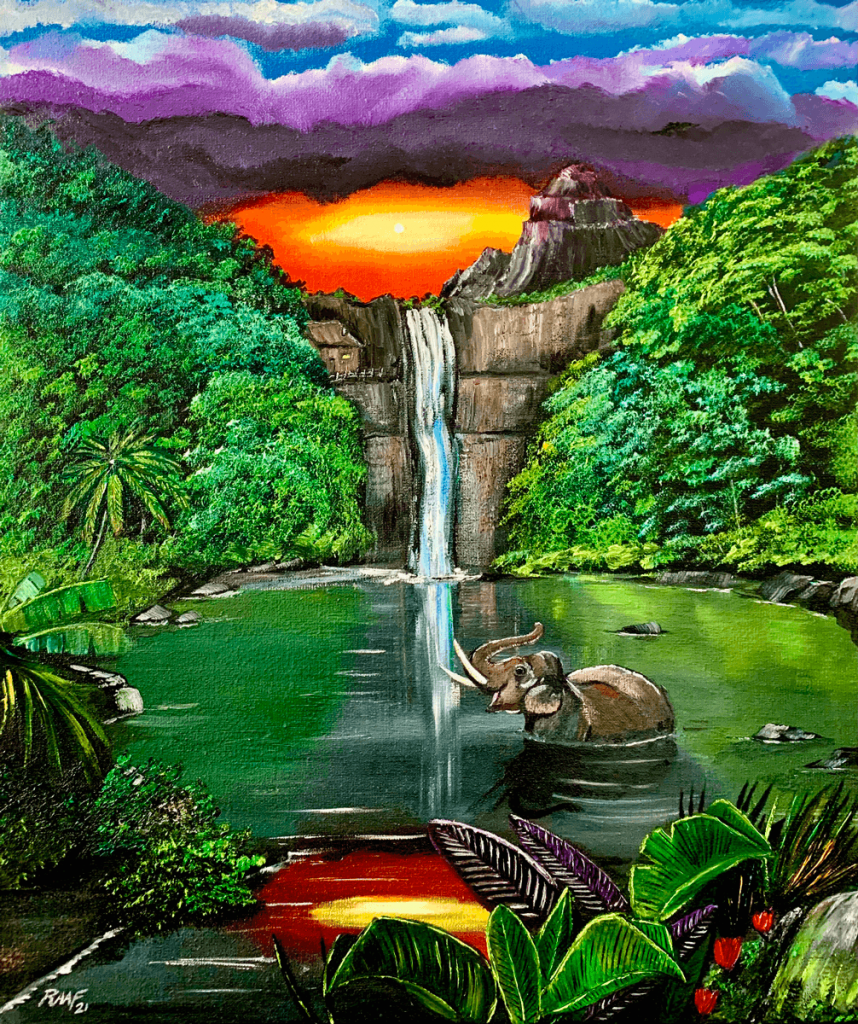 Oasis_in_the_forest_by_raaf_paintings